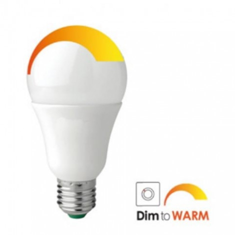 Ampoule E27 LED Dim to Warm