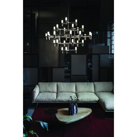 suspension nemo crown major lustre de grande taille luminaire xxl. Black Bedroom Furniture Sets. Home Design Ideas