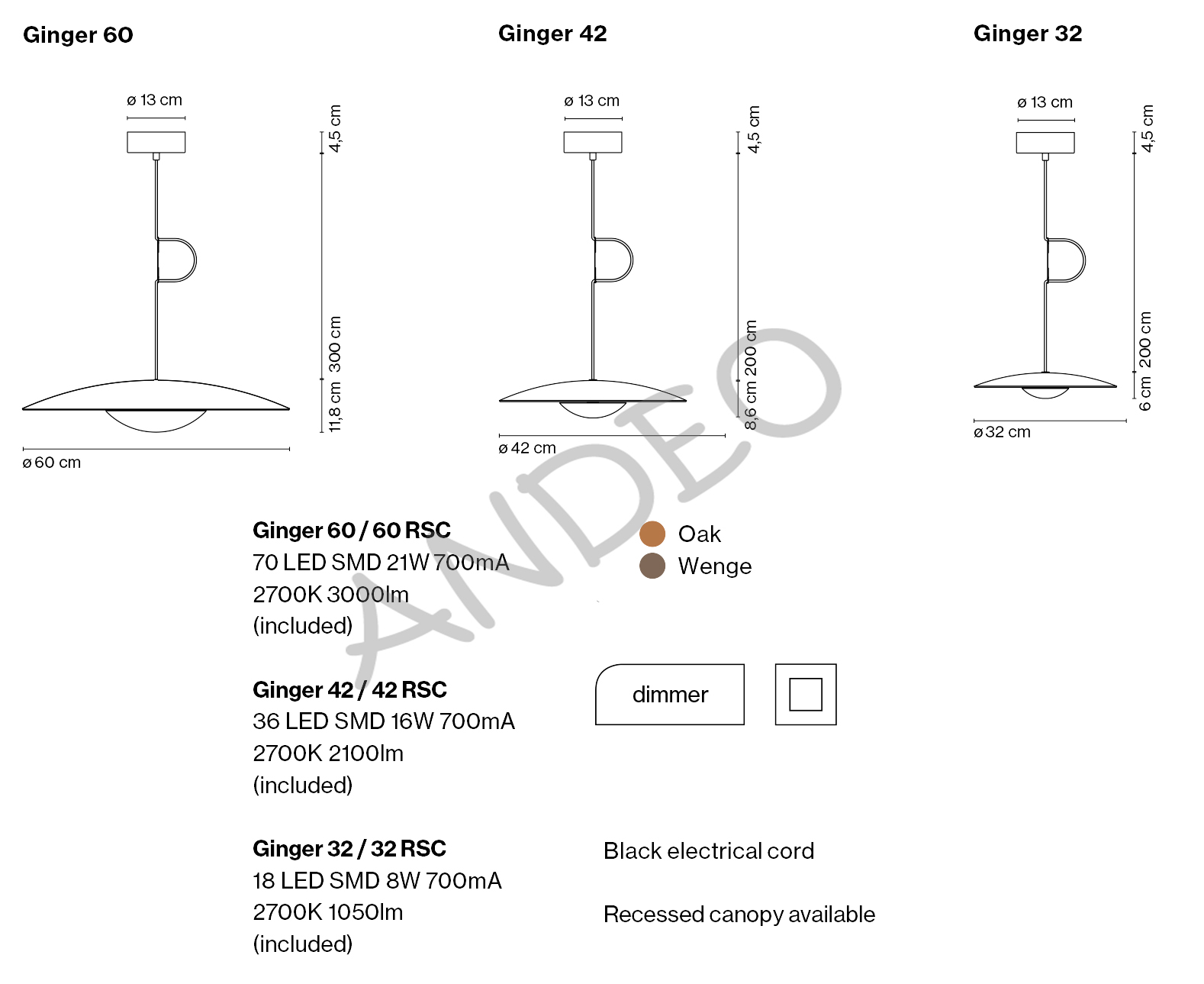 Marset Ginger Suspension Tech